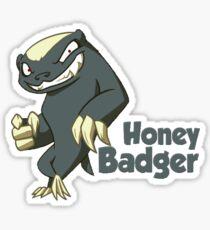 Honey Badger - Don't Care Sticker
