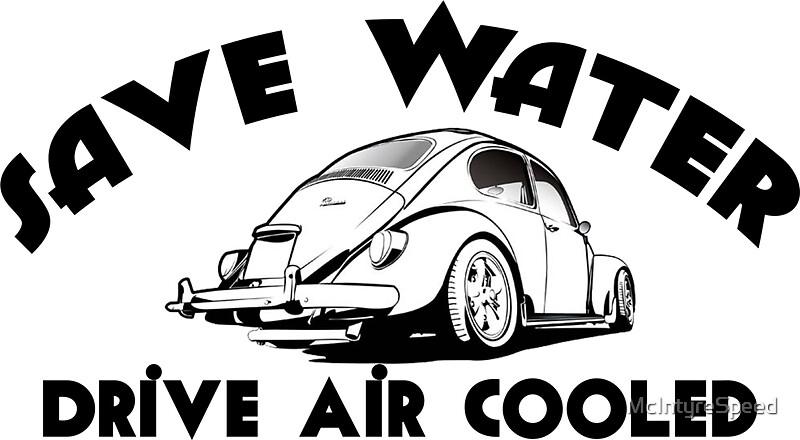 air cooled  stickers