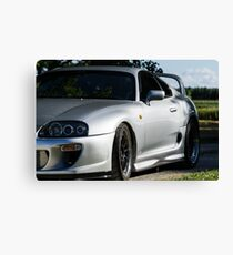 Toyota Supra Summer Canvas Print