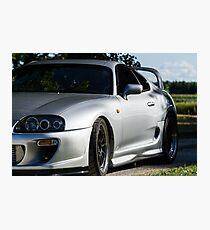 Toyota Supra Summer Photographic Print