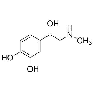 Molécula de epinefrina de annmariestowe