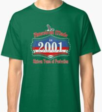American Made in 2001 Sixteen Years 16th Birthday Classic T-Shirt