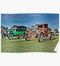 Classic Dodge Cars Poster