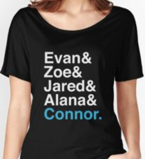 Evan& 2 Women's Relaxed Fit T-Shirt