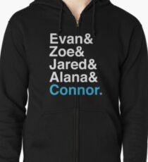Evan& 2 Zipped Hoodie