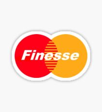 Finesse Sticker