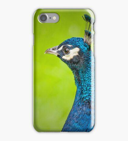Peacock Portrait iPhone Case/Skin
