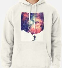 Painting the universe (Colorful Negative Space Art) Hoodie