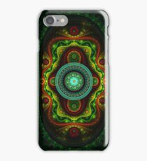 Fractal complex pattern iPhone Case/Skin