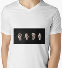 Pit-Bull puppies Men's V-Neck T-Shirt