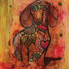 Datchshund Stylized by Anartsysoul