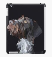 German Wire Haired Pointer  iPad Case/Skin