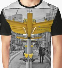 Manchester, Transport Links Graphic T-Shirt