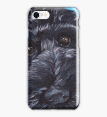 Labradoodle Dog Art iPhone Case/Skin
