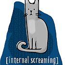 Internal Screaming Cat by Jenn Reese