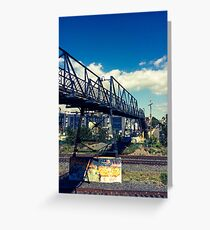 Junction - Over the tracks Greeting Card