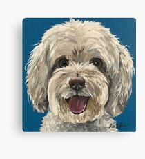 Maltipoo Dog art Canvas Print