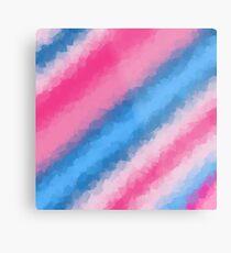 Cotton Candy Soft Rainbow Colors Metal Print