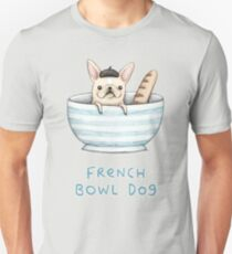 French Bowl Dog Unisex T-Shirt