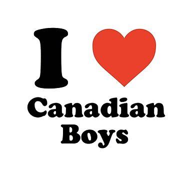 I love (heart) canadian boys by linnlag