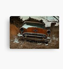 Abandoned 1955 Oldsmobile 88 Coupe Canvas Print