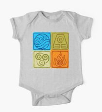 The Four Elements - Avatar: The Last Airbender Kids Clothes