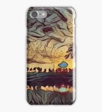 Low Poly Landscape C1 iPhone Case/Skin