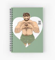 VALENTINE - ADAM: I LOVE YOU Spiral Notebook