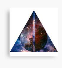 Galaxy Trinity Canvas Print