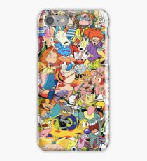 Childhood Cartoons iPhone Case/Skin