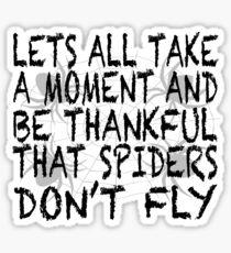 Flying Spider Sticker