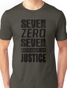 SEVEN, Defender of Justice Mystic Messenger Collection Unisex T-Shirt