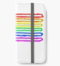 Homosexual Pride with lightsabers iPhone Wallet