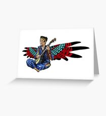 Sufjan (with wings) Greeting Card
