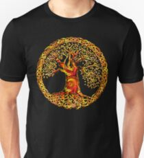 TREE OF LIFE - orange crush T-Shirt