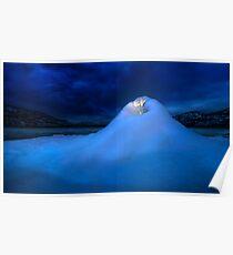 Ice Volcano Poster