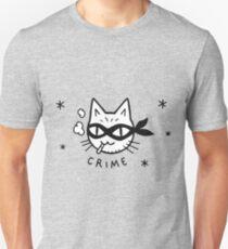Cat Crime Unisex T-Shirt