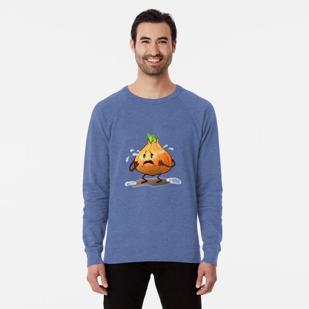 Crying Onion Lightweight Sweatshirt