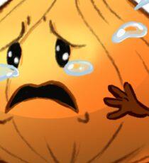 Crying Onion Sticker