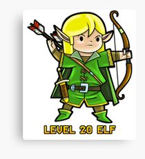 Level 20 Elf Canvas Print