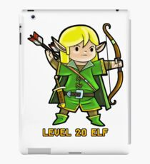 Level 20 Elf iPad Case/Skin