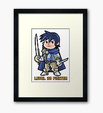 Level 20 Fighter Framed Print