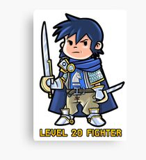 Level 20 Fighter Canvas Print