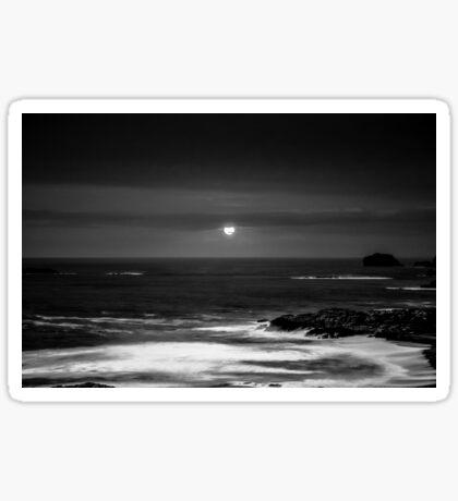 The Sea by Night Sticker