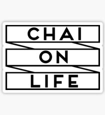 CHAI ON LIFE stickers Sticker