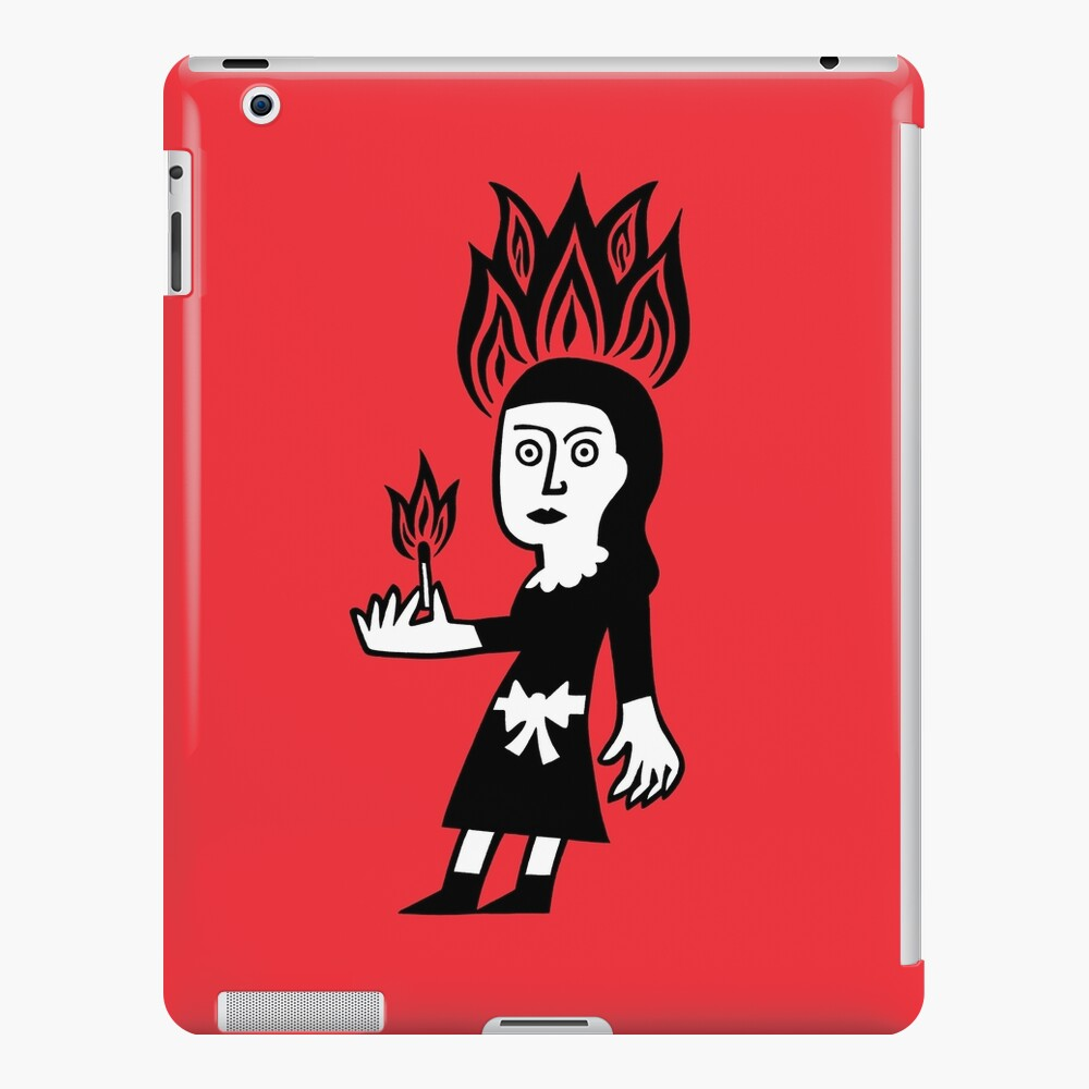 Harriet and the matches iPad Case & Skin