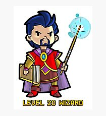 Level 20 Wizard Photographic Print
