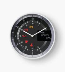 Aston Martin Tachometer Clock Clock