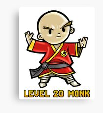 Level 20 Monk Canvas Print