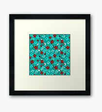alienated love pattern Framed Print